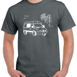 Mercedes Sprinter logo man tee-shirt