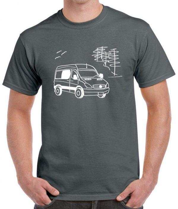 Mercedes Sprinter logo man tee-shirt