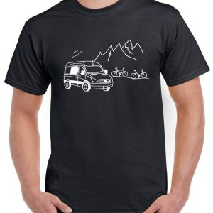 man tee-shirt nature van conversion