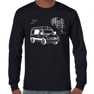 chandail manche longue, long sleeve van conversion