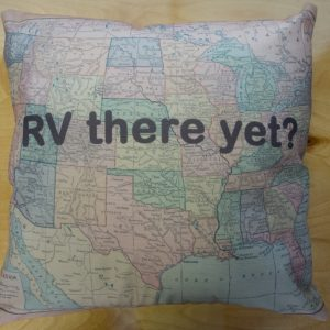 Housse coussin RV Yet There ?