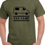 t-shirt van camping mercedes sprinter vanning