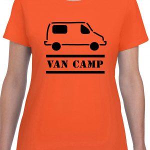t-shirt van camping mercedes sprinter