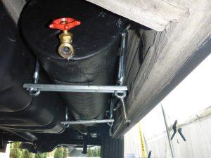 résevoir eau usé rv grey water tank