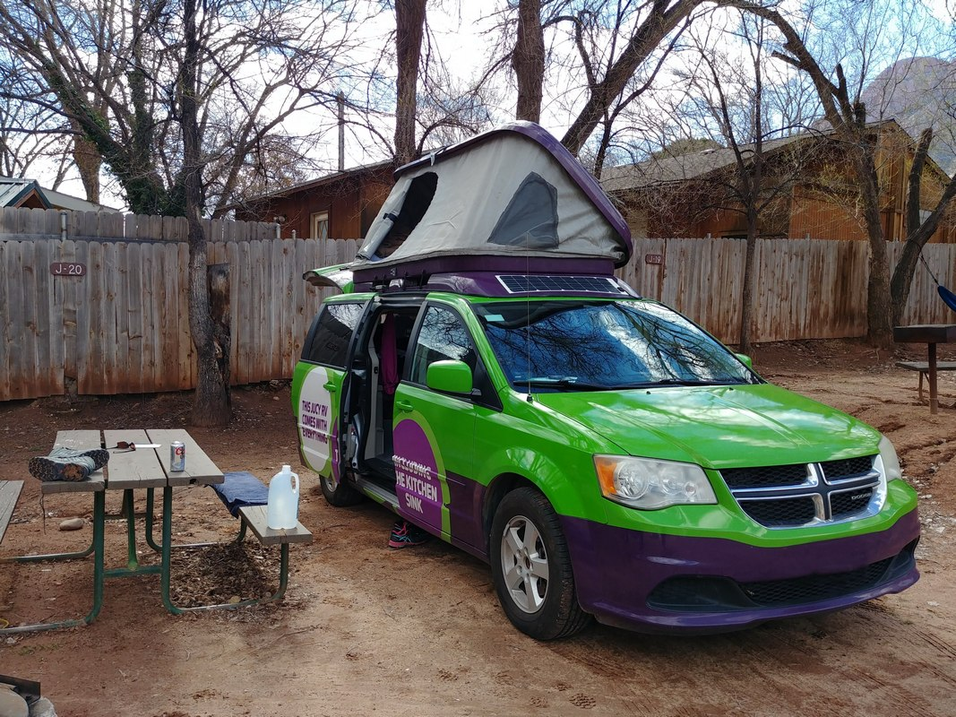 Van camper Jucy USA