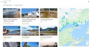 Google voyage idée destination